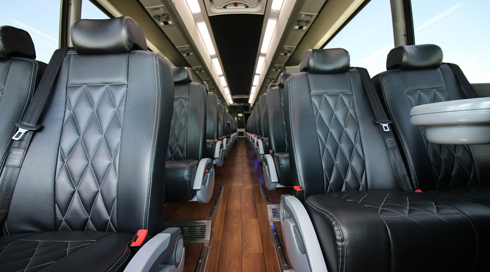 Dallas Coach Tours with Leather Seats