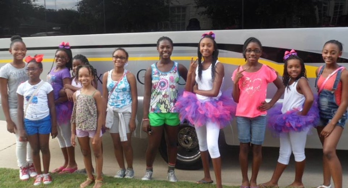 11th Birthday Limo Bus