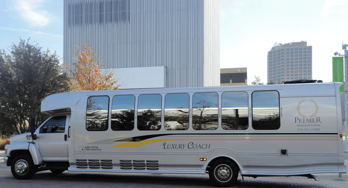26 Passenger Luxury Limo Bus