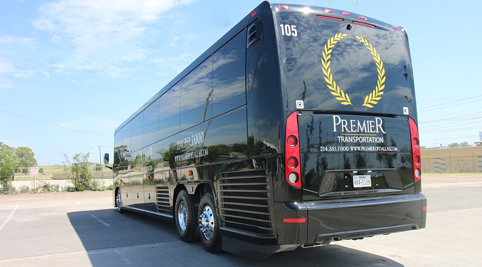 Premier Provides Charter Bus Tours in Dallas