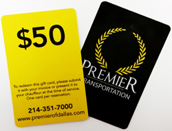 DFW Transportation Gift Card