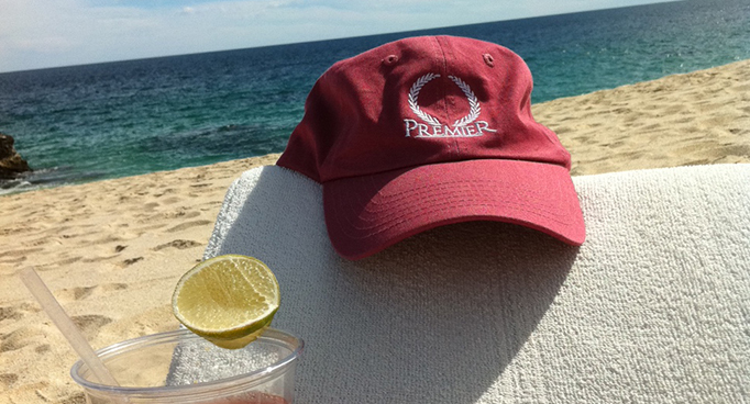 Premier Hat Lounges on the Beach