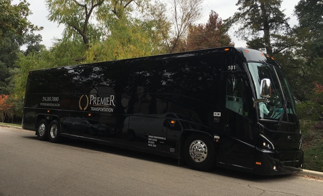 Premier Transportation Coach Bus