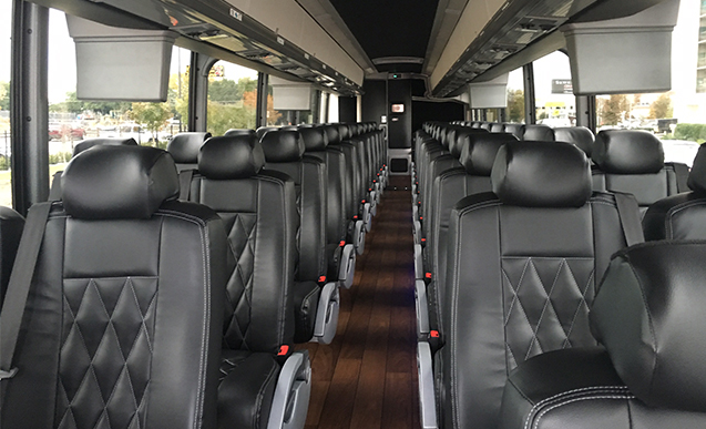 Coach bus charter bus dallas tx Tour bus interior design