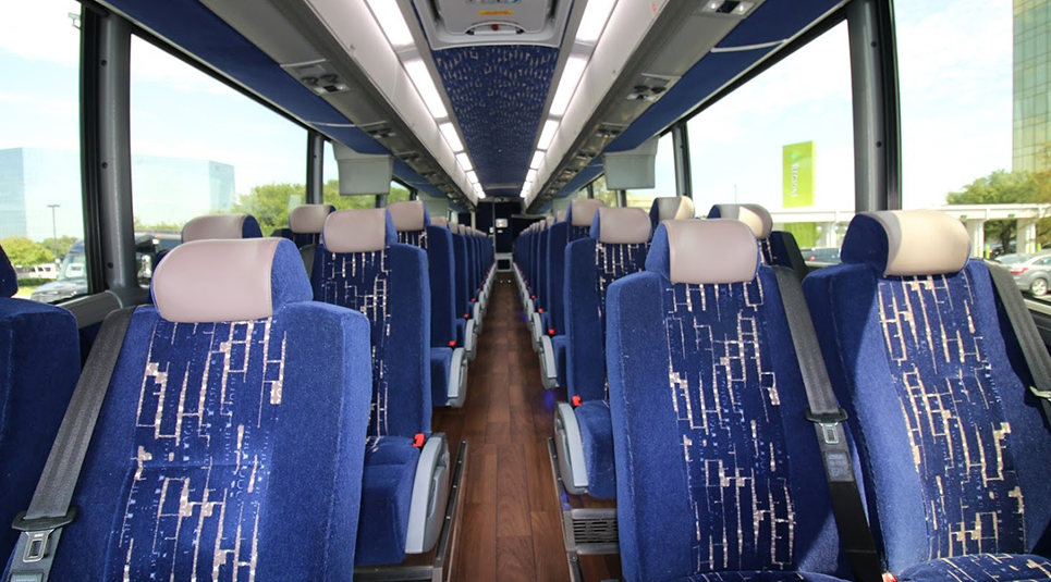 DFW Coach Bus Interior