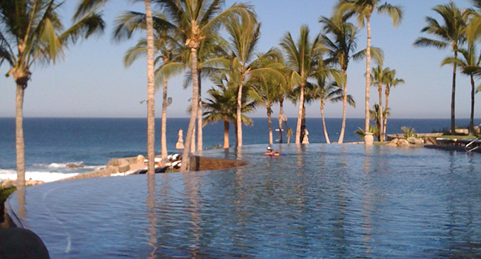 View from The One and Only - Palmilla Resort