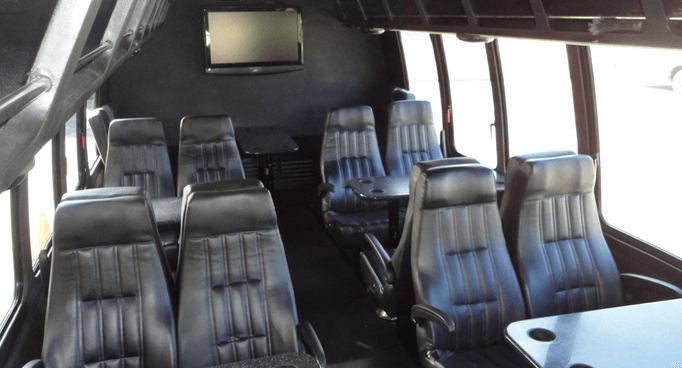 Executive Bus with Leather Seating